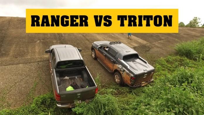 So sánh Ford Ranger và Mitsubishi Triton