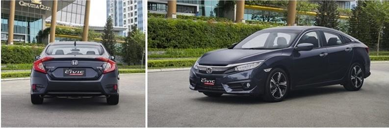 So sánh xe Honda Civic và Mazda3 sedan 2.2