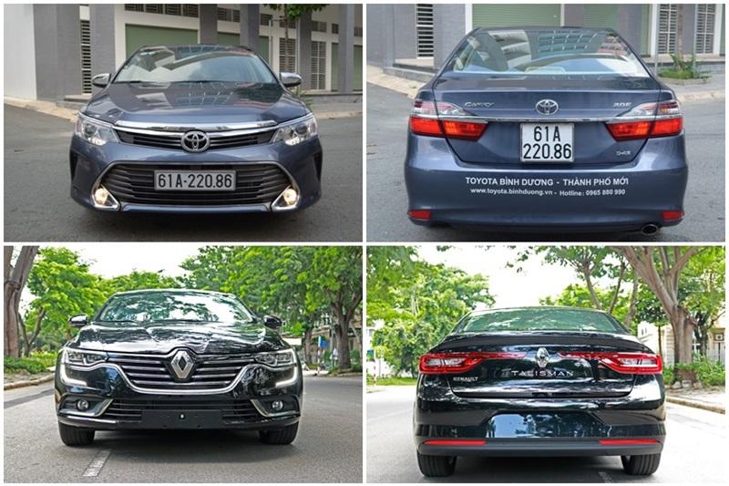 Toyota Camry và Renault Talisman 2