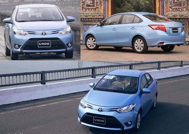 Toyota Vios 2017 và Honda City  3