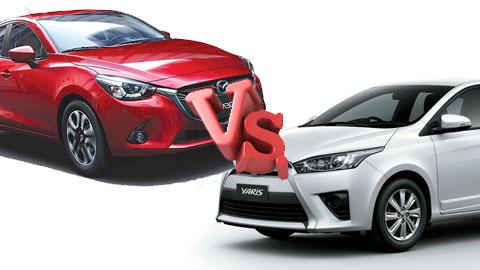 Toyota Yaris và Mazda2