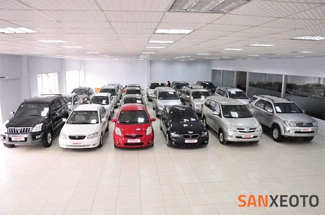 mẫu giấy mua bán xe ô tô cũ