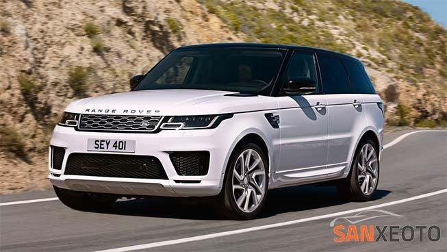 Range Rover chiếc xe sang mang phong cách thể thao gọn gàng và mạnh mẽ