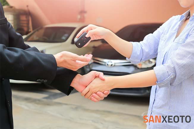 mẫu hợp đồng mua bán xe ô tô của công ty