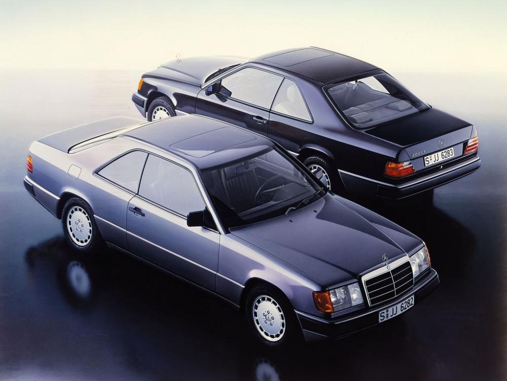 Mercedes E-Class Coupe và lịch sử phát triển 30 năm 7