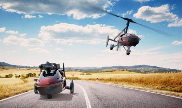 Hot: ô tô bay chính thức lên kệ với giá 9 tỷ đồng 1
