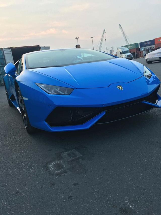 """Lamborghini Huracan xanh Lemans """"kịch độc"""" vừa về Việt Nam 3"""