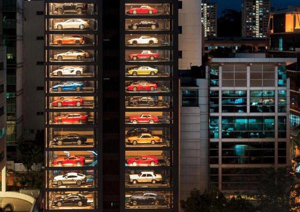 Chiêm ngưỡng tòa nhà đỗ siêu xe lớn nhất thế giới