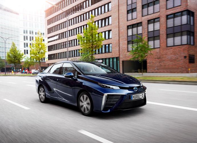 Mirai FCV: Chạy bằng hydro của Toyota đang thăm do thị trường Trung Quốc